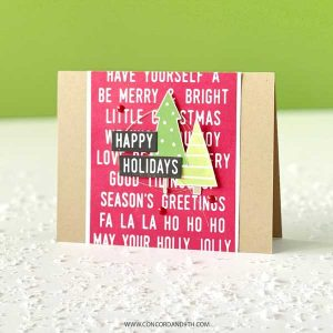 Concord & 9th Mix and Match Holiday Sentiments Die class=