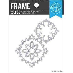 Hero Arts Color Layering Snowflake Frame Cuts