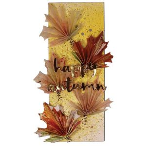 I-Crafter Folded Maple Leaf Die class=