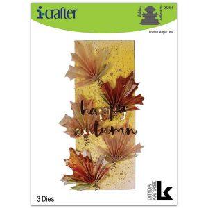 I-Crafter Folded Maple Leaf Die