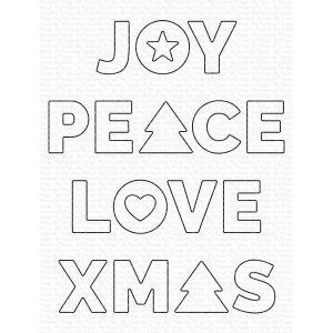 My Favorite Things Joy, Peace, Love Die-namics