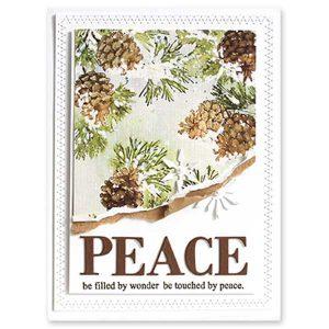 Penny Black Peaceful Pines Creative Dies class=