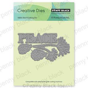 Penny Black Peaceful Pines Creative Dies