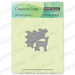 Penny Black Harmony With Nature Die Set