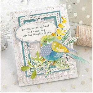 Papertrey Ink Feathered Friends 15 Die class=