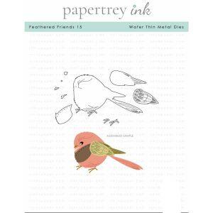 Papertrey Ink Feathered Friends 15 Die