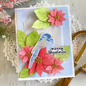 Papertrey Ink Feathered Friends Mini 15 Die class=