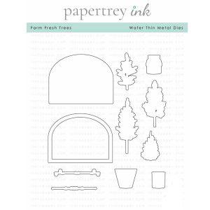 Papertrey Ink Farm Fresh Trees Die