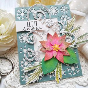 Papertrey Ink Winter Swirls Die class=
