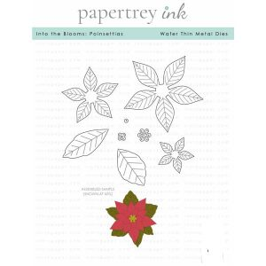Papertrey Ink Into the Blooms: Poinsettias