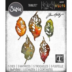 Sizzix Leaf Fragments Thinlits Dies