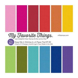 My Favorite Things Keep Me in Stitches Paper Pad