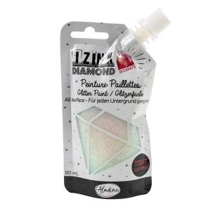IZINK Diamond 24 Carats Glitter Paint – Pearly
