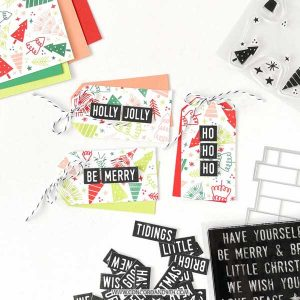 Concord & 9th Tiny Trees Turnabout Stamp Set class=