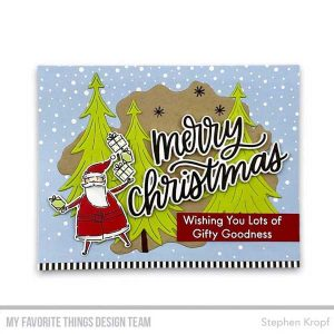 My Favorite Things Merry Christmas Stamp class=