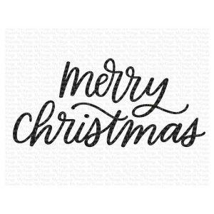 My Favorite Things Merry Christmas Stamp