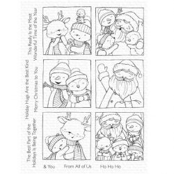 My Favorite Things Selfies With Santa Stamp