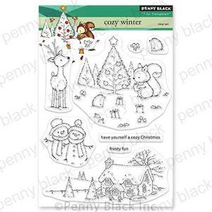 Penny Black Cozy Winter Stamp Set