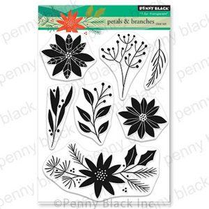 Penny Black Petals & Branches Stamp Set