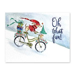 Penny Black Christmas Cycling Stamp class=
