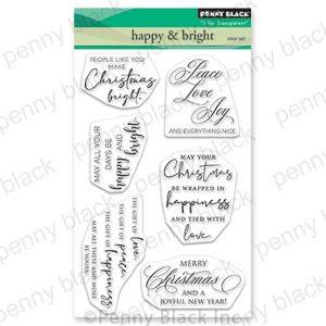 Penny Black Happy & Bright Stamp Set