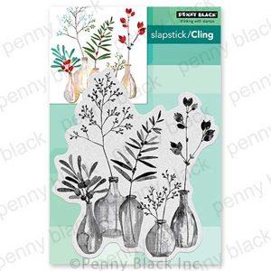 Penny Black Festive Fragrance Slapstick/Cling Stamp