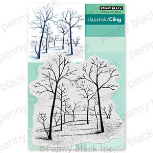 Penny Black Gorgeous Grove Slapstick/Cling Stamp