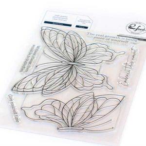 Pinkfresh Studio Butterflies Stamp Set
