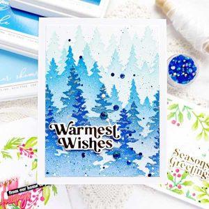 Pinkfresh Studio Perfect Sentiments: Holiday Stamp Set class=