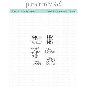 Papertrey Ink Just Sentiments: Santa Stamp