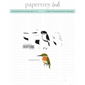 Papertrey Ink Feathered Friends Mini 16 Stamp