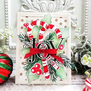 Papertrey Ink Grand Christmas Sentiments Stamp class=