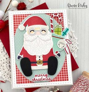 Papertrey Ink Build-A-Santa Stamp class=