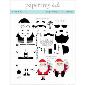 Papertrey Ink Build-A-Santa Stamp