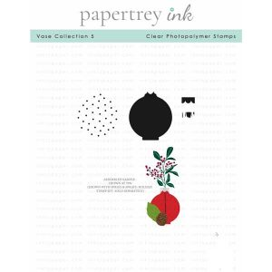 Papertrey Ink Vase Collection 5 Stamp