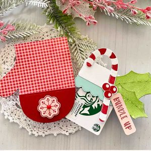 Papertrey Ink Go-To Gift Card Holder: Mitten Accessories class=