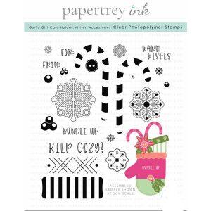 Papertrey Ink Go-To Gift Card Holder: Mitten Accessories