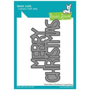 Lawn Fawn Giant Merry Christmas Lawn Cuts