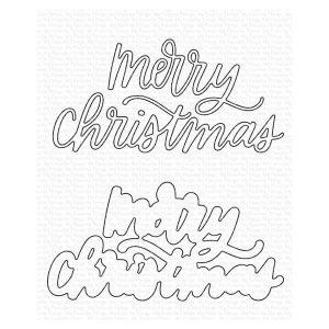 My Favorite Things Merry Christmas Die-namics