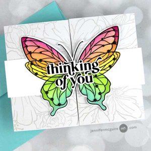 Pinkfresh Studio Butterflies Die class=