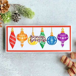 Pinkfresh Studio Perfect Sentiments: Holiday Hot Foil Plate class=