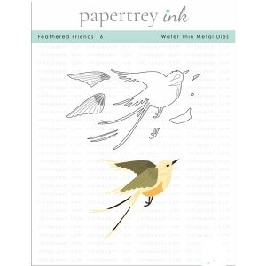 Papertrey Ink Feathered Friends 16 Die