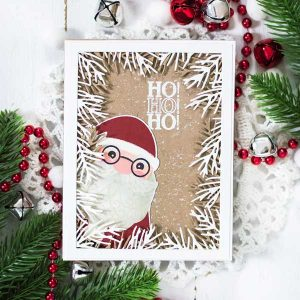 Papertrey Ink Just Sentiments: Santa Stamp class=