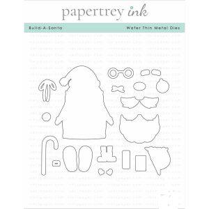 Papertrey Ink Build-A-Santa Die