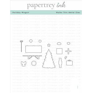 Papertrey Ink Holiday Wagon Die
