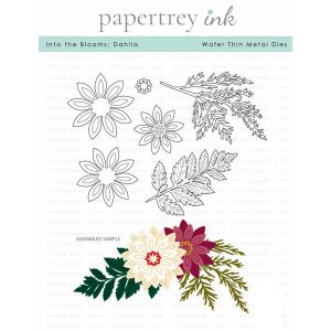 Papertrey Ink Into the Blooms: Dahlia Die