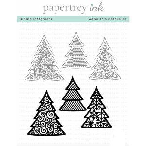Papertrey Ink Ornate Evergreens Die