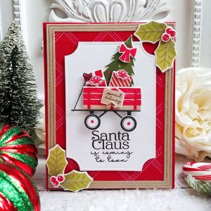 Papertrey Ink Holiday Wagon Die class=