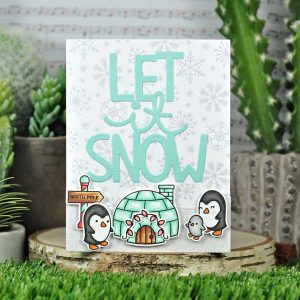 Lawn Fawn Let It Shine Snowflakes Paper Pack class=