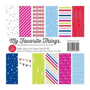 """My Favorite Things Holly Jolly Paper Pad - 6"""" x 6"""""""